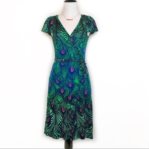 H M Dresses   Skirts - Matthew Williamson for H M Peacock Wrap ... adfb396e0